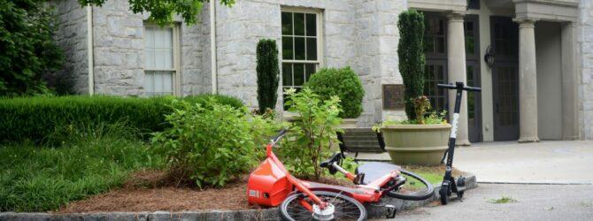 E Scooter im Straßenverkehr