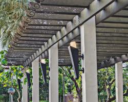 Gartenüberdachtung: verschiedene Möglichkeiten