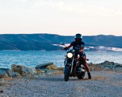 Transporter für das Motorrad